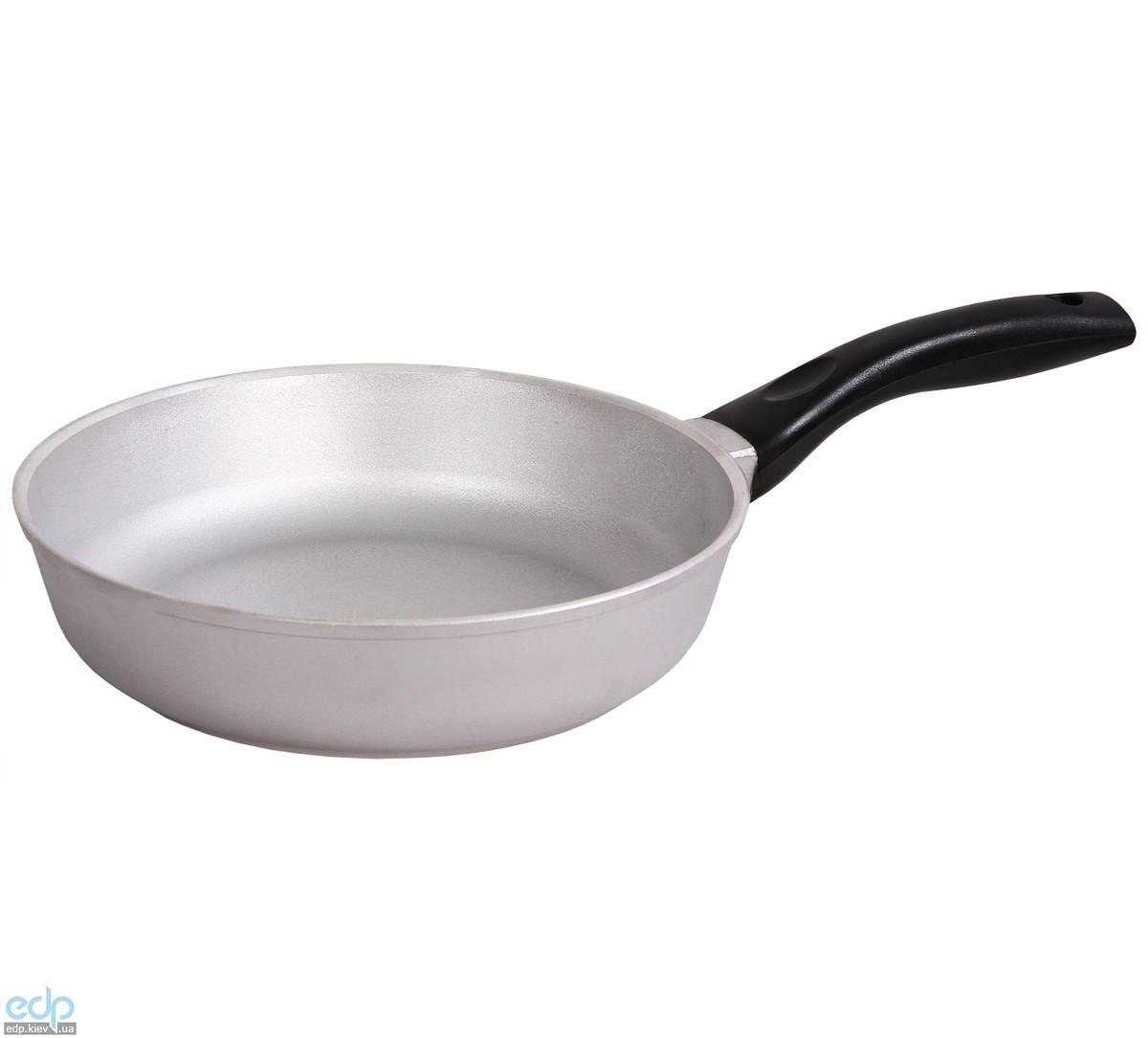 Биол - Сковорода с утолщенным дном без крышки диаметр 28 см (2807)