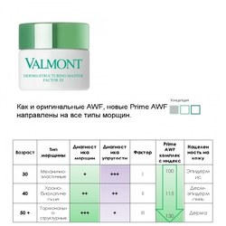 Prime AWF Фактор III Дермоструктурирующий крем против возрастных морщин Valmont  - Dermo-Structuring Master Factor III - 50 ml (brk_705907)