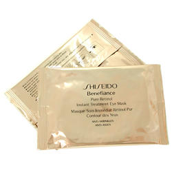 Shiseido -  Benefiance Pure Retinol Instant Treatment Eye Mask -  12 шт
