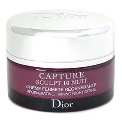 Christian Dior -  Face Care Capture Sculpt 10 Nuit Regenerating Firming Night Cream -  50 ml