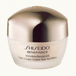 Shiseido -  Face Care Benefiance Wrinkle Resist24 Night Crem - 50ml