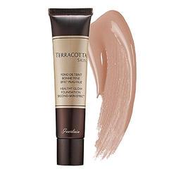 Тональный крем бронзирующий с эффектом бархата Guerlain -  Terracotta Skin Healthy Glow Foundation № 02 bunettes