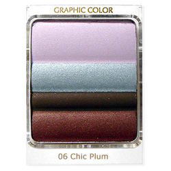 Тени для век Estee Lauder -  Graphic Color Eyeshadow Quad №06 Chic Plum