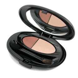 Тени для век Shiseido -  Silky Eye Shadow Duo № S19 Tawny Bisque