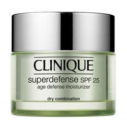 Clinique -  Face Care Superdefense SPF 25 Age Defense Moisturizer Dry Combination -  50 ml (для сухой и комб. кожи)