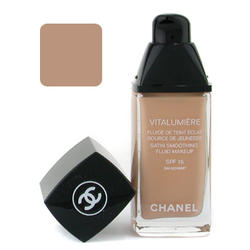 Тональный крем Chanel -  Vitalumiere Satin Smoothing Fluid Makeup №40 Beige