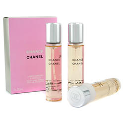 Chanel Chance - туалетная вода - 3x20 ml refills