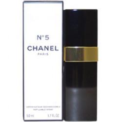 Chanel N5 - туалетная вода - 50 ml (rechargeable - перезаряжаемый флакон)
