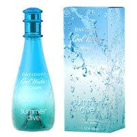Davidoff Cool Water Summer Dive Woman - туалетная вода - 100 ml