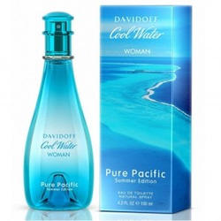 Davidoff Cool Water Summer Pure Pacific Women - туалетная вода - 100 ml TESTER
