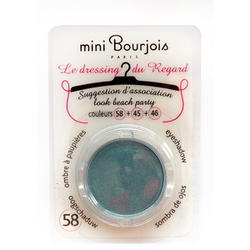 Тени для век Bourjois -  Le Dressing Du Regard №58 Бирюзовый