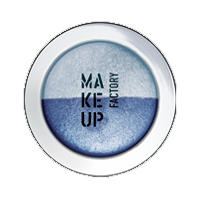 Make up Factory Тени для век Make Up Factory -  Duo Eye Shadow №75 Marine Blue/Light Blue