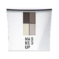 Make up Factory Набор Make Up Factory - Eye Color №04 Oak/Ochre Bronze/Zinc White/Dim Grey