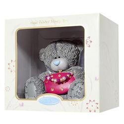 Копилка MTY (Me To You) -  мишка с розовой сумочкой (в коробке) (арт. G01Q0362)