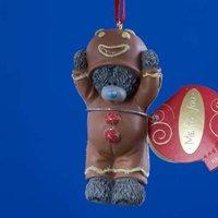 Фигурка Новогодняя MTY (Me To You) -  мишка в костюме джинджи с дисплея (арт. G01R0028)