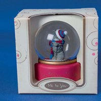 Водяной шар MTY (Me To You) -  мишка в шапочке (арт. G01R0153)