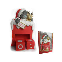 Новогодний календарь MTY (Me To You) - с медвежонком перекидной (арт. G01S0230)