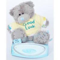 Игрушка плюшевая MTY (Me To You) -  медвежонок в желтой футболке Good Luck 7.5 см (арт. G01W1055)