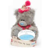 Игрушка плюшевая MTY (Me To You) -  мишка улыбнитесь You Make Me Smile 15 см (арт. G01W1676)