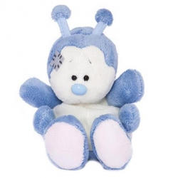 Друзья мишек Teddy Blue Nose -  плюшевая божья коровка 10 см (арт. G73W0008)