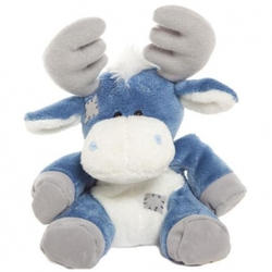 Друзья мишек Teddy Blue Nose -  плюшевый лось 10 см (арт. G73W0035)