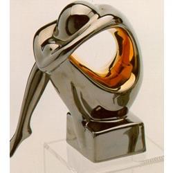 Статуэтки Galos (Испания) - Мини Криптон - 14 x 12 см. (фарфор, покрытие платиной, золотом)