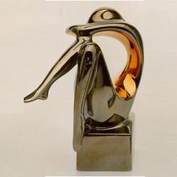 Статуэтки Galos (Испания) - Мини Криптон - 14 x 14 см. (фарфор, покрытие платиной, золотом)