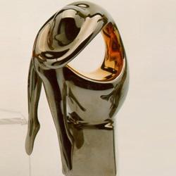 Статуэтки Galos (Испания) - Мини Криптон - 15 x 9 см. (фарфор, покрытие платиной, золотом)