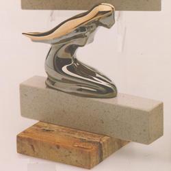 Статуэтки Galos (Испания) - Форма - 17 x 16 см. (фарфор, покрытие платиной, золотом)