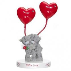 Держатель для фотографии двойной MTY (Me To You) -  два медвежонка  With Love (арт. GYQ1074)