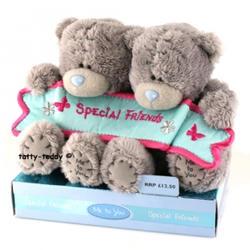Игрушка плюшевый мишка MTY (Me To You) -   Special Friend 10 см (два мишки) (арт. GYW1294)