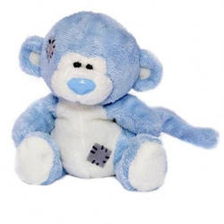 Друзья мишек Teddy Blue Nose -  плюшевая обезьянка 10 см (арт. GYW1573)