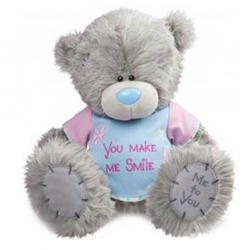 Игрушка плюшевый мишка MTY (Me To You) -  с подарками You Make Me Smile 30 см (арт. GYW1848)