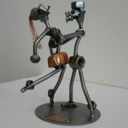 Статуэтки Hinz and Kunst (Германия) - Танцующая пара - 18 x 14 см. (металл)