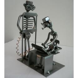 Статуэтки Hinz and Kunst (Германия) - На рентгене - 20 x 13 см. (металл)