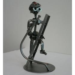 Статуэтки Hinz and Kunst (Германия) - Пожарник - 20 x 10 см. (металл)