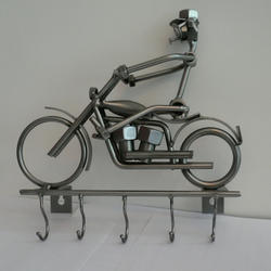 Статуэтки Hinz and Kunst (Германия) - Вешалка для ключей Harley - 26 x 24 см. (металл)
