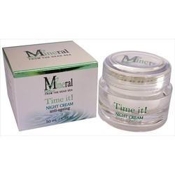Mineral Line - Анти-возрастная линия - Ночной крем от морщин - 50 ml