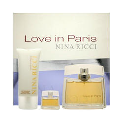 Nina Ricci Love in Paris -  Набор (парфюмированная вода 30 + лосьон-молочко для тела 100 + mini 5 ml)