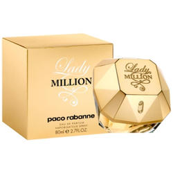 Paco Rabanne Lady Million -  Набор (парфюмированная вода 50 + лосьон-молочко для тела 50 + гель для душа 50)