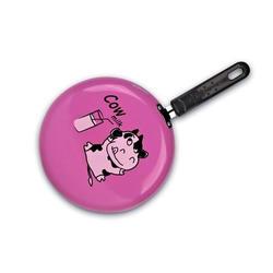 Granchio -  Блинная скородка розовая  Granchio Cow milc Crepe Collection - диаметр 23 см (арт. 88270)