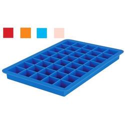 Granchio -  Силиконовая форма для льда Granchio Silico Flex  - размер 20х13 см на 40 кубиков  (арт. 88411)