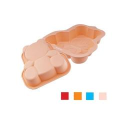 Granchio -  Форма силиконовая для выпечки Медвежонок Granchio Silico Flex   размер 18.5х20 см (арт. 88426)