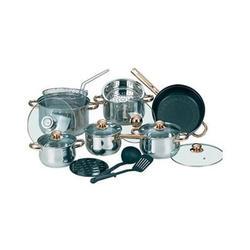 Maestro - Набор посуды 17пр. зол. (МР2506)