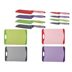 Peterhof - Набор из 2-ух ножей с тефлоновым покрытием и разделочной доски(PH22327)