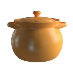 Sacher (посуда) Sacher - Кастрюля керамическая1.6л коричневая (SHKP00066)