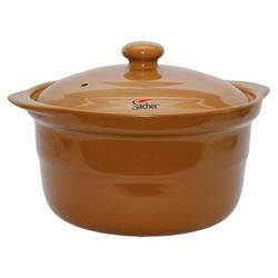 Sacher (посуда) Sacher - Кастрюля керамическая 4.2л коричневая (SHKP00078)