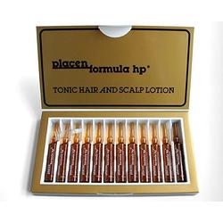 Placen Formula - HP Tonic hair and scalp lotion - Плацент Формула Классическая от выпадения - 12 ампул