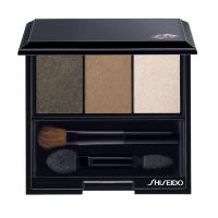 Тени для век Shiseido -  Luminizing Satin Eye Color Trio №BR 307 Strata/Горная Пещера