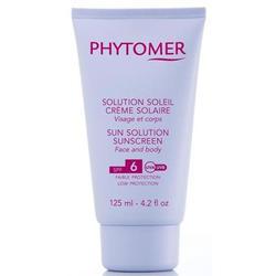 Phytomer -  Защитный крем от солнца для лица и тела с SPF6 Sun Solution - 125 ml (SOV156)